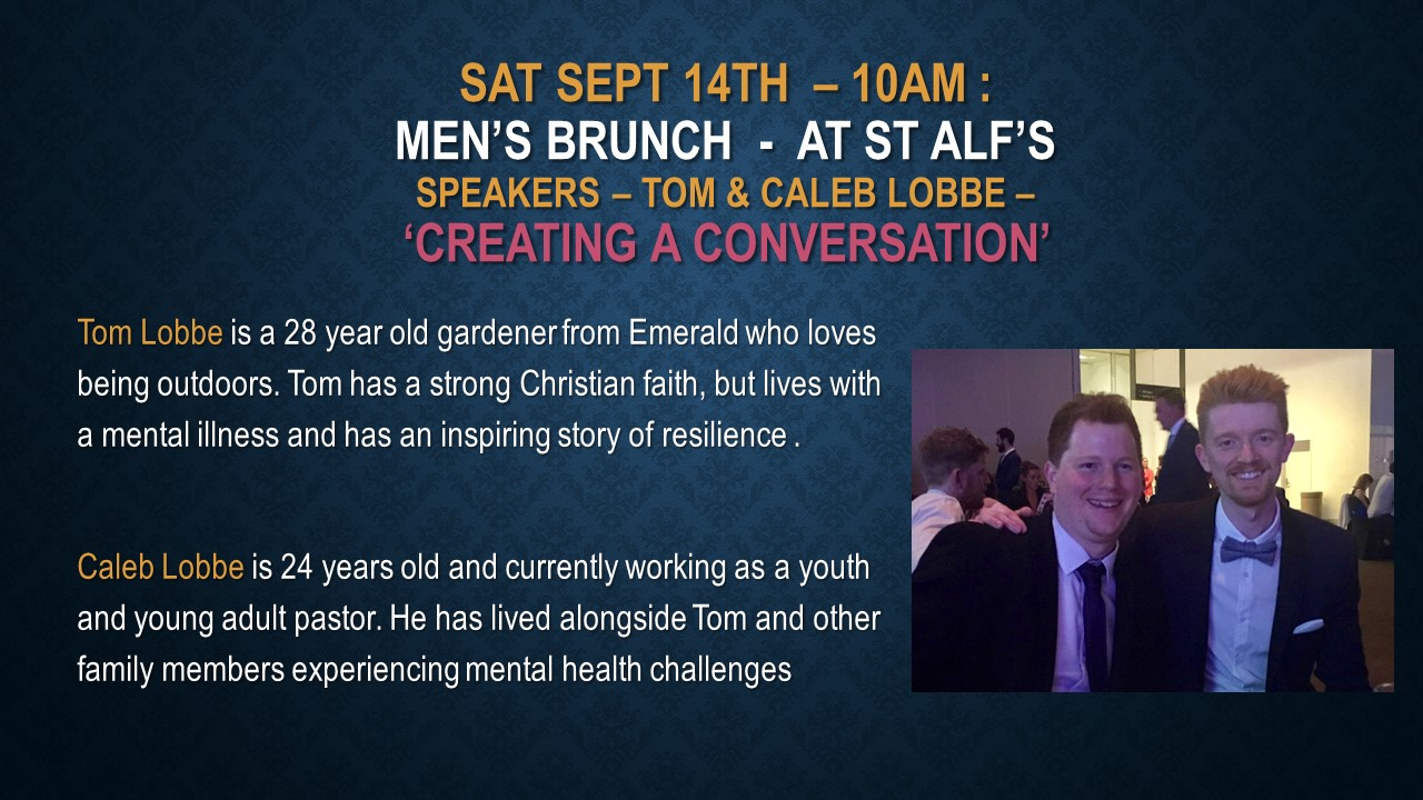Saturday September 14th Men's Brunch